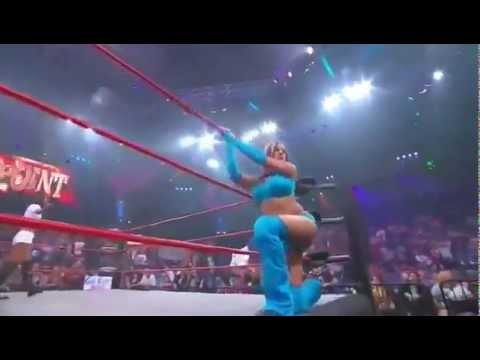 TNA Velvet Sky Entrance 2011 (as the knockouts champion)