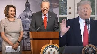 Democrats win shutdown battle with Trump, for now