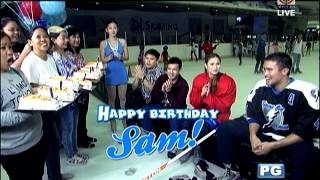 What is Sam Milby's wish as he turns 31