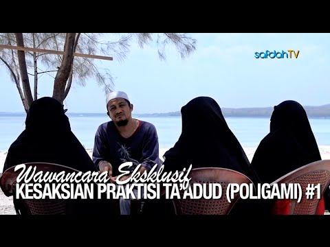 Wawancara: Kesaksian Praktisi Ta'adud (Poligami) #1 - Ustadz Abdullah Taslim, MA & Istri-Istri