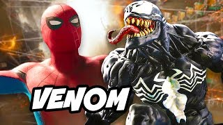 Spider-Man Homecoming and Tom Hardy Venom Movie Explained