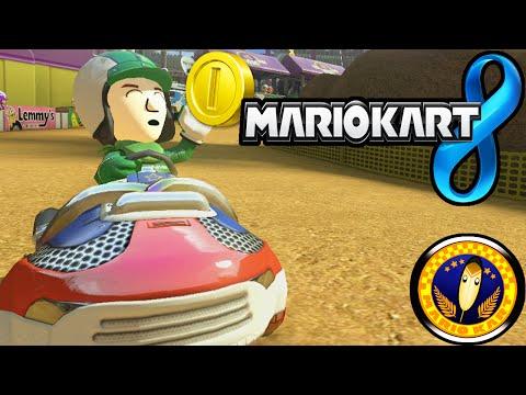 Mario Kart 8: Feather Cup Tournament Online 150cc Mii Roy Gameplay Walkthrough PART 18 Wii U HD