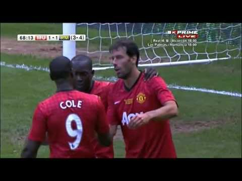Legends: Manchester United 1 - 2 Real Madrid | Classic Match | 02.06.2013