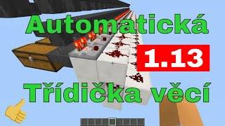 Minecraft [CZ] Tutoriál - Automatické třídění věcí ᴴᴰ