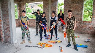 3T Nerf War : Squad Alpha Nominee Soliders Nerf guns Fight with Criminals Counterfeit Money