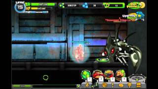 Ben 10 Omniverse Rise Of Heros How To Defeat Scavenger Prime Without Crushing Blow or Infusions