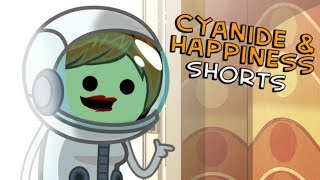 Astronaut Mom - Cyanide & Happiness Shorts