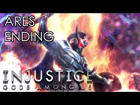 INJUSTICE: GODS AMONG US - ARES ENDING (Xbox 360/PS3/Wii U HD)