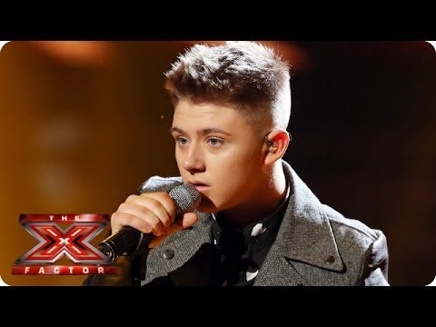 Nicholas McDonald sings Just The Way You Are by Bruno Mars - Live Week 8 - The X Factor 2013