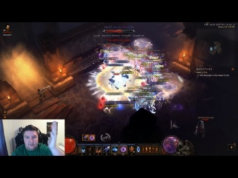 How to Do Mp10 Only Spamming 1 Button - Patch 1.0.8 Diablo 3