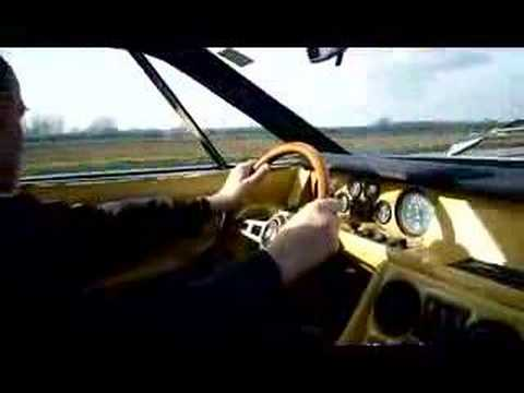 LAMBORGHINI JARAMA 1972 DRIVING INSIDE Video