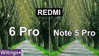 Redmi 6 Pro vs Redmi Note 5 Pro Camera Test | Camera Review | Low Light Photo Comparison