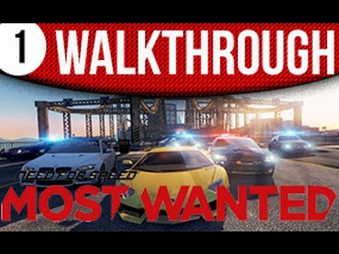 Need For Speed Most Wanted A Criterion Game Walkthrough Part 1
