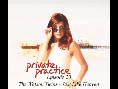 The Watson Twins - Just Like Heaven