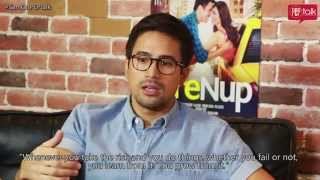 Sam Milby on PEPtalk. On 'The PreNup,' working with Jennylyn, and his Hollywood attempt