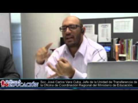 Entrevista a Entrevista a José Carlos Vera Cuba - Programa Hablemos de Educacíon