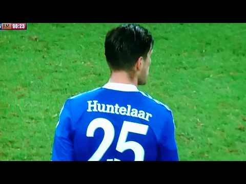 Klaas-Jan Huntelaar Amazing goal - FC Shalke vs Real Madrid