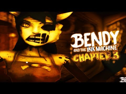 DONT LET ALICE ANGEL GET YOU! | Bendy and the Ink Machine CHAPTER 3 (Part 1)