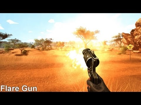 All Weapons Shown - Far Cry 2