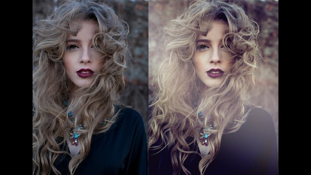 Colorful Portrait Photoshop Portraits Photoshop