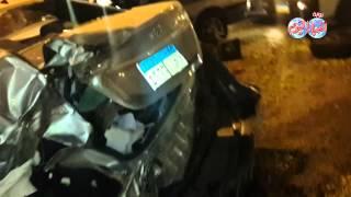 حادث مروع على طريق أوتوستراد المعادي