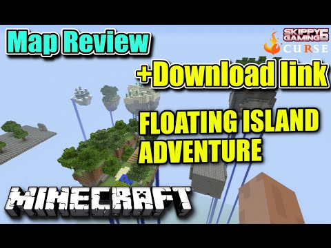 MINECRAFT - PS3 - FLOATING ISLANDS ADVENTURE - MAP REVIEW + DOWNLOAD LINK ( PS4 )  SERVER UPDATE