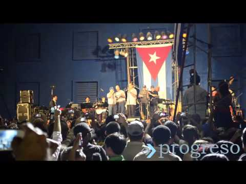 Los Cinco cantan El Necio junto a Silvio Rodríguez
