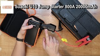 Suaoki U10 Car Jump Starter 800A Battery Booster Pack