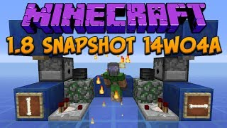 Minecraft 1.8 Snapshot 14w04a: Villager Farming, Item Frames & Particles