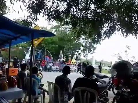 Curva Nord Pekanbaru Datang Dukung PSPS Hadapi Persebo