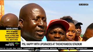 Thohoyandou stadium upgraded