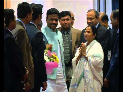 CM Mamata Banerjee came Dhaka 19 February 2015