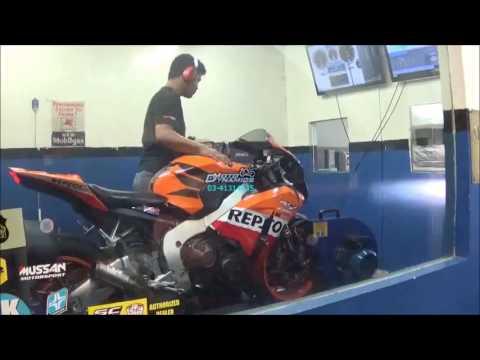 Honda CBR1000RR Bazzaz ZFI Dyno Tuning, HM QS Plus - Motodynamics Technology Malaysia