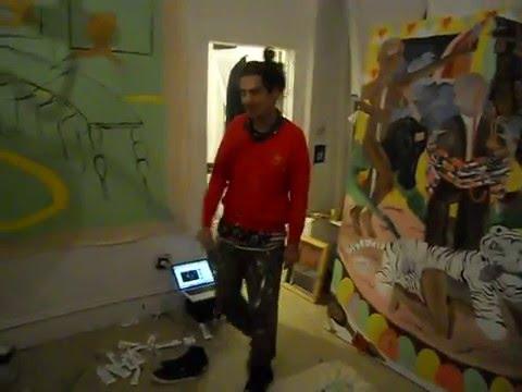 kirkis .PAINTING STUDIO BROOKLYN . 2012 JAN