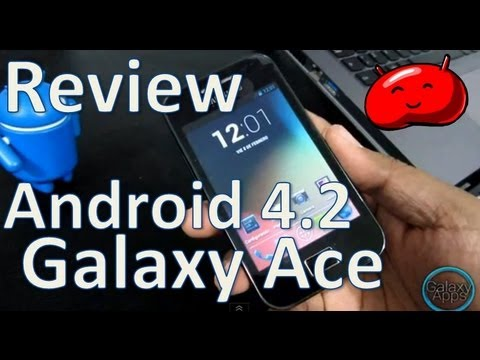 [Review] Android 4.2.2 para Galaxy Ace con CM10.1 (Español Mx)