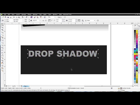 CorelDRAW X6 for Beginners Drop Shadows