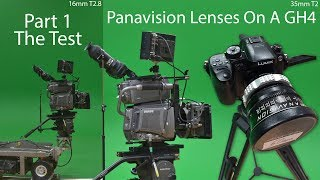 Panavision Lenses On A GH4 Part 1 - The Test