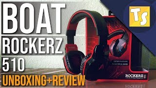 Boat Rockerz 510 Unboxing and Review - Best Bluetooth Headphone under Rs. 2,000 for Gaming ?? 🔥🔥