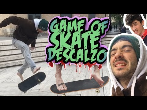 Skate Descalzo Sin Zapatillas Game Of Skate