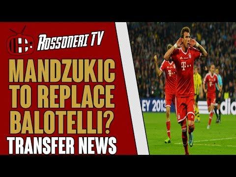 Mandzukic to replace Balotelli? | AC Milan Transfer News | (07/06/14)