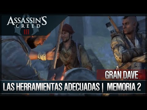 Assassin's Creed III - Walkthrough - Hacienda - Gran Dave - Las herramientas adecuadas [2] [100%]