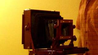 8x10 Large Format Camera Movements demo (New Design)