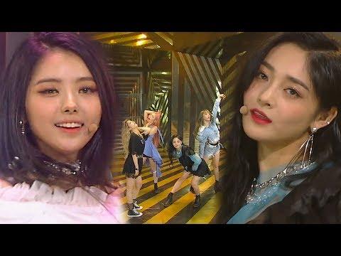 《Debut Stage》 PRISTIN V(프리스틴 V) - Get It(네 멋대로) @인기가요 Inkigayo 20180603