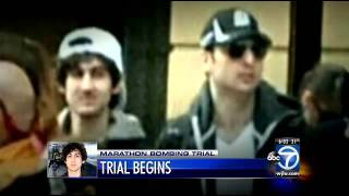 video Some of the prospective jurors who could decide Dzhokhar Tsarnaev's fate got their first look Monday at the young man accused of bombing the Boston Marathon,...