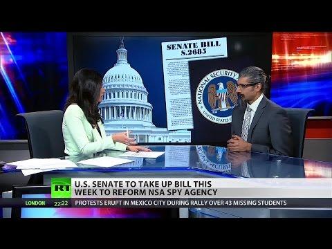 NSA reform bill silent on internet spying