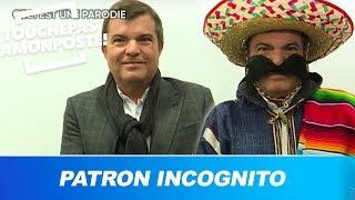 """Appietto incognito : le patron de C8 parodie """"Patron incognito"""""""