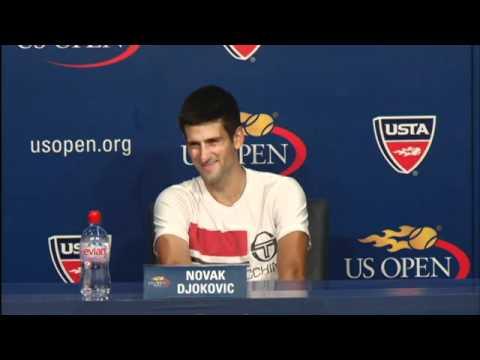 2010 全米オープン Press Conferences: Novak ジョコビッチ (Second Round)