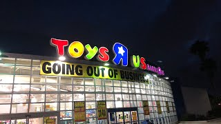 THE END OF TOYS R US LIVE