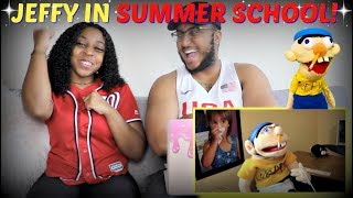 "SML Movie: ""Jeffy's Summer School"" REACTION!!!"