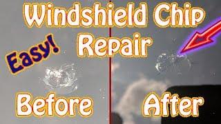DIY Windshield Chip Repair Using a Permatex Windshield Repair Kit  Fix a Cracked Windshield at Home